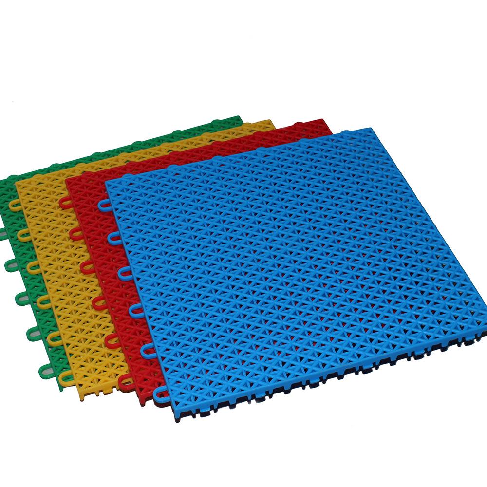 室外户外幼儿园防滑垫悬浮式拼装地板幼儿园操场塑胶地垫跑道直销