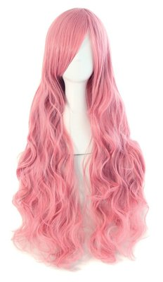 taobao agent Vocaloid patrol luka wig female Harajuku style pink long curly hair