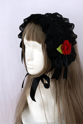 taobao agent Choosing Girl Choosing Flower Matching Gothic Hairband Can be equipped with floral lolita dress headdress