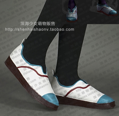 taobao agent Campus skin style committee member Ari shoes cosplay shoes custom-made