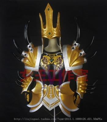 taobao agent LOL League of Legends Demacia Prince Jarvan IV Super Original Cos Full Armor Customization