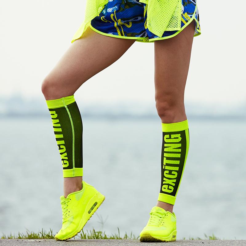 Thiết kế ban đầu mùa hè ngoài trời marathon nén bê xà cạp thể thao bộ chân phụ nữ chạy cưỡi tính linh hoạt