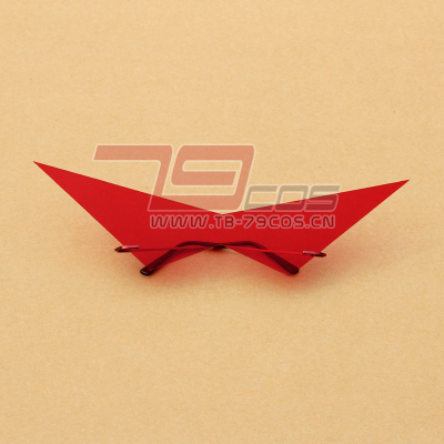 taobao agent Tianyuan Breakthrough Red Lotus Eyes Red Lotus Chapter Camina Glasses Cosplay Props Customized 0442