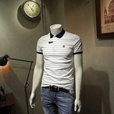 Ma thuật Nana tops Joker ngắn tay T-Shirt nam ve áo 2018 xuân thanh niên sọc POLO áo sơ mi nam kinh doanh bình thường áo polo nam đẹp Polo