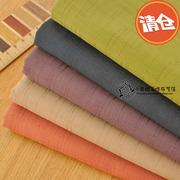 Vải cotton tre màu rắn vải bông cotton Tây Tạng màu xanh lá cây đỏ DIY handmade quần áo vải Q