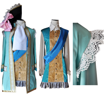 taobao agent Cosplay anime game APH Hetalia France/Far uncle Seven Years War cos clothing custom