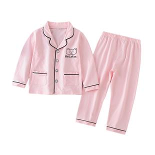 男女童纯棉睡衣薄款家居服