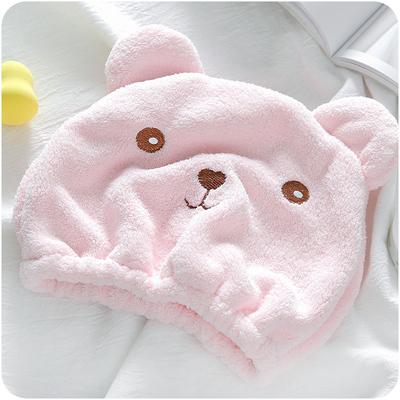 干发帽居家吸水毛巾浴帽头发速干包头巾动物卡通加厚成人吸水浴帽