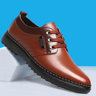 冬季男士新款商务休闲皮鞋