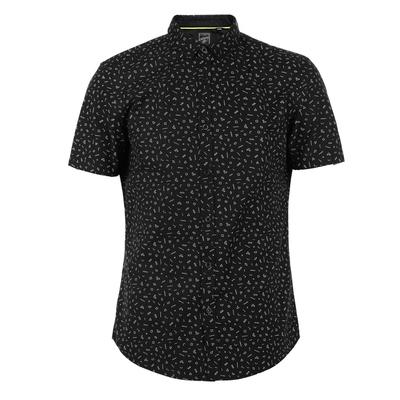 CHỌN Slade bông của nam giới kinh doanh bình thường áo sơ mi ngắn tay C   417204505 áo tay dài nam Áo