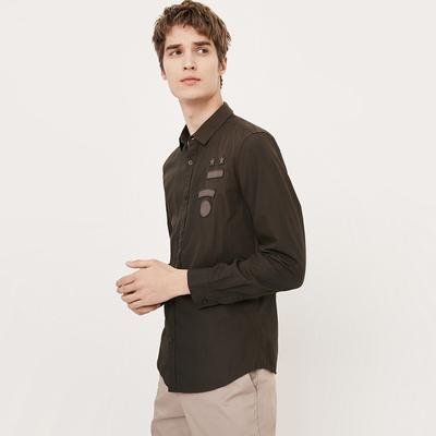 CHỌN Slade bông thời trang người đàn ông giản dị của dài tay áo C | 417305501 áo sơ mi đẹp Áo