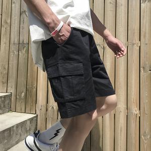 短裤男五分裤夏季韩版休闲裤子新款宽松百搭男士工装裤潮
