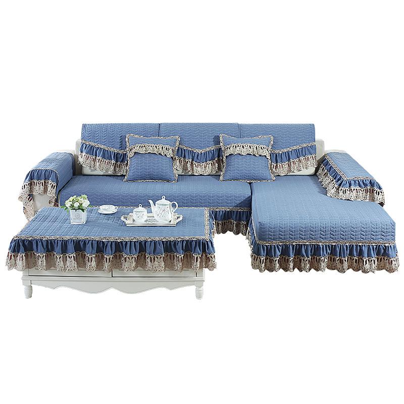 欧彩沙发垫四季通用防滑布艺简约现代沙发套全包万能套罩全盖定做