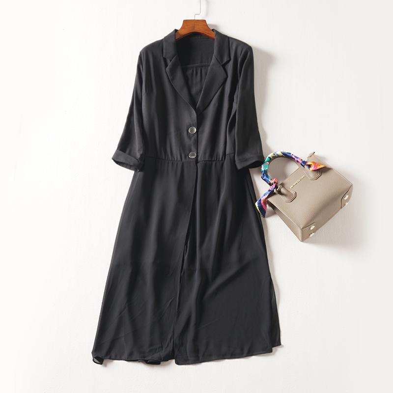 [Phúc lợi 189 nhân dân tệ] chất lượng cao phiên bản châu Âu của tính khí lớn áo gió dài áo khoác nữ