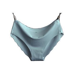 4条冰丝一片式内裤纯棉裆三角裤女