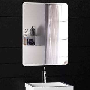 浴室镜大厕所贴墙免打孔卫生间壁挂粘贴