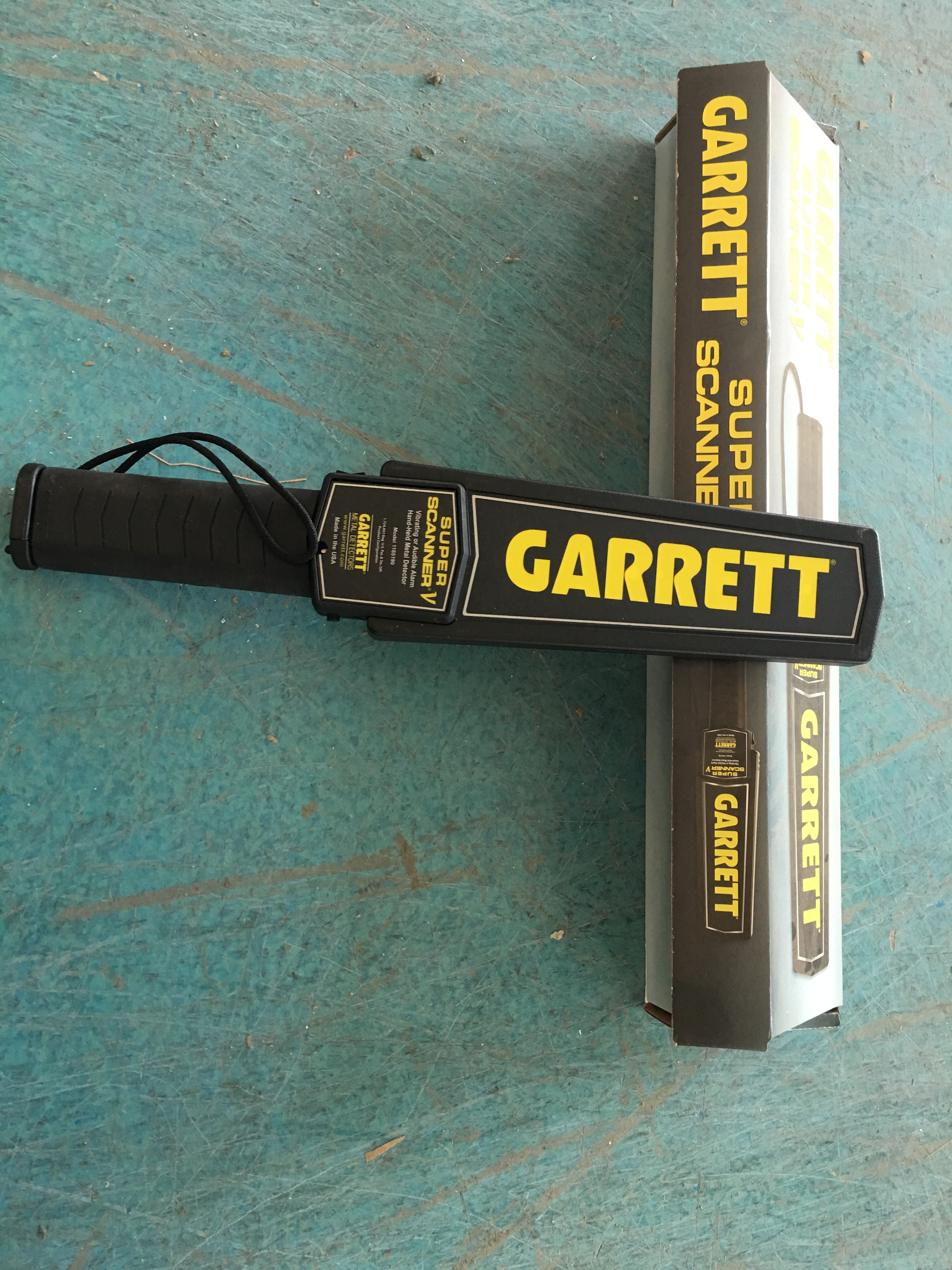 cheap Purchase china agnet SuperScanner < V-Garrett GARRETT Imported