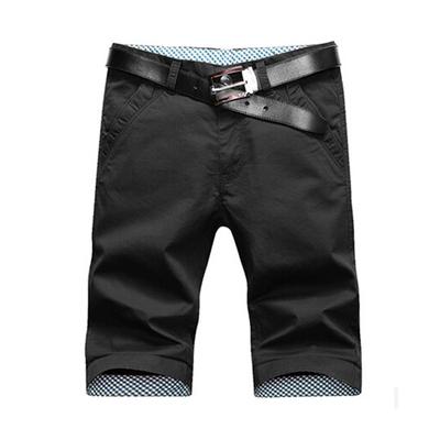 Quần short nam mùa hè của nam giới năm quần quần Hàn Quốc phiên bản của xu hướng bảy điểm quần mùa hè thường quần bãi biển quần lớn 3/4 Jeans