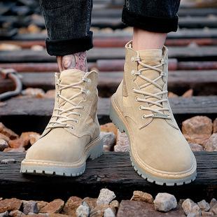 冬季百搭高帮雪地靴马丁靴