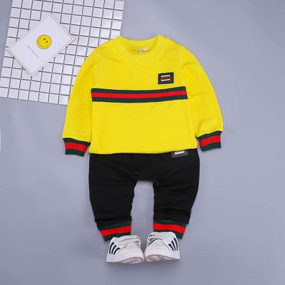 宝宝秋装男套装0一1-2-3岁婴儿衣服潮帅洋气女小童春秋两件套