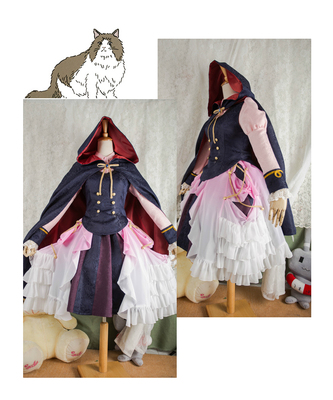 taobao agent 【March 8th Alliance】Oriental Broken China cos Miss Remilia dress cosplay