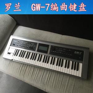 Được sử dụng RONLAND Roland GW-7 Great Wall 7 GW7 Arranger Bàn phím 61-key bàn phím tổng hợp