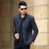 2018 mùa xuân mới playboy phù hợp với nam giới phù hợp với nam giới phù hợp với áo khoác mỏng áo khoác trung niên áo sơ mi Hàn Quốc phiên bản