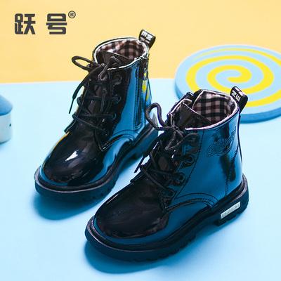 【聚便宜】秋季儿童马丁靴女童靴子