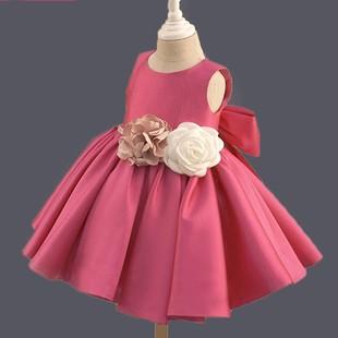 儿童礼服新款女童蓬蓬纱公主裙