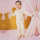 加厚儿童保暖内衣套装婴儿三层夹棉秋衣裤保暖衣宝宝纯棉冬季套装