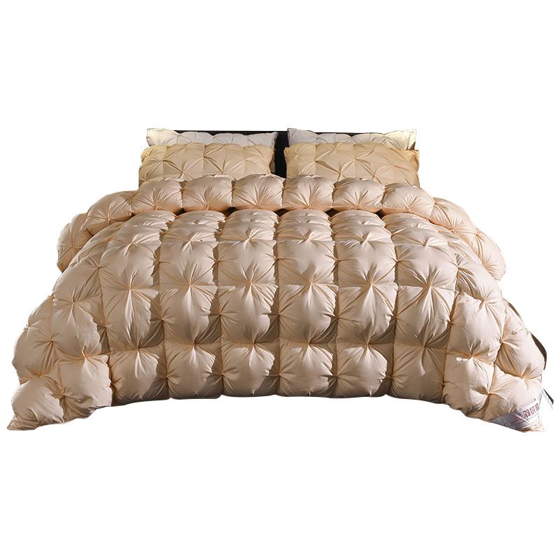 【限时抢购】富安那正品95白鹅绒羽绒被大促柔赛丝加厚保暖被子