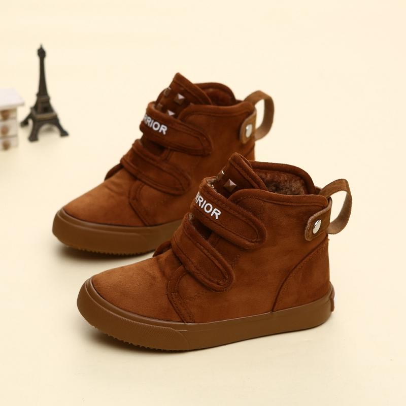 天天特价回力童鞋18儿童棉鞋新款男童女童保暖加绒加厚宝宝雪地靴