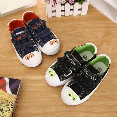 正品回力童鞋男童魔术贴板鞋帆布鞋运动球