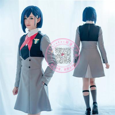 taobao agent Darling in the FranXX CODE 015 Raspberry ICHIGO uniform cosplay suit