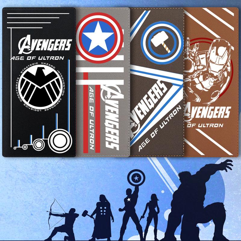 Captain america Anime Ví Nam Giới và phụ nữ sinh viên phổ đoạn dài ngắn Marvel phim hoạt hình trò chơi xung quanh ví