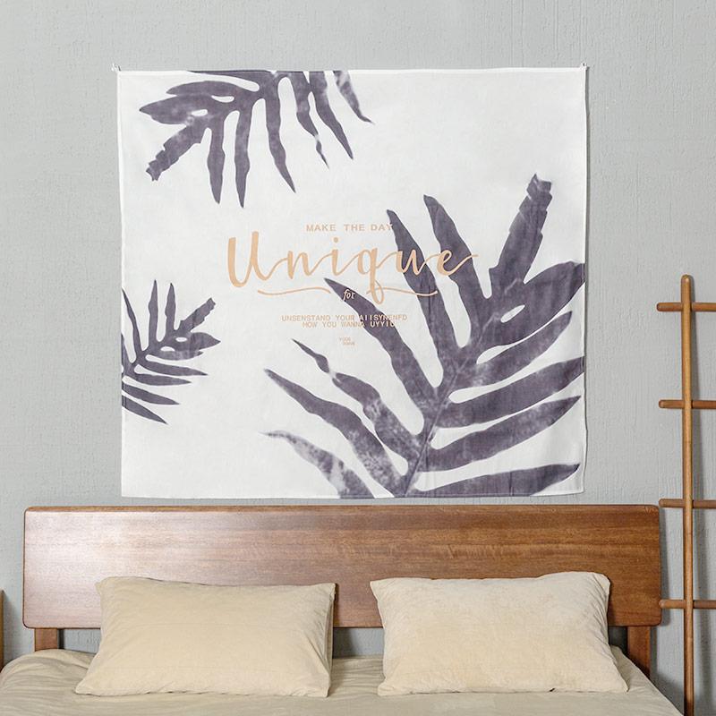 聚可爱 北欧ins背景布网红卧室宿舍改造墙头布置挂毯拍照装饰挂布