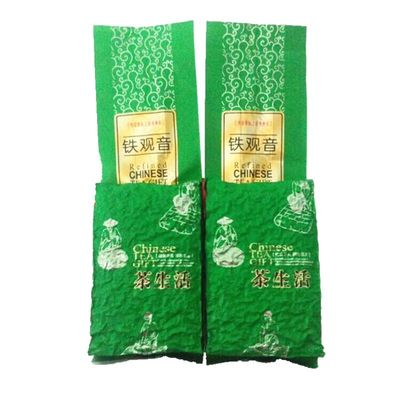 新茶铁观音清香型茶叶 买1件送1 件共500克 茶叶铁观音高山乌龙茶