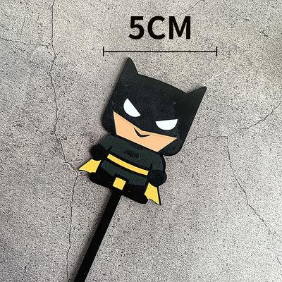 新款彩色Q版蝙蝠侠亚克力蛋糕装饰