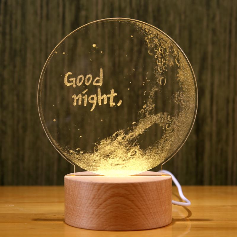 创意月球夜灯3d月亮灯蒲公英床头灯装饰台灯人气情人节圣诞节礼物[优惠价20元卖出615件]