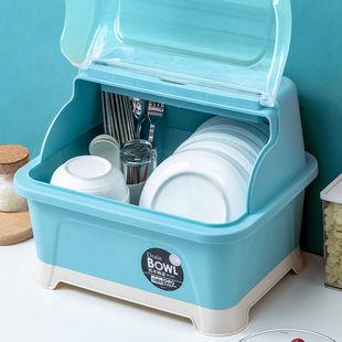 厨房碗筷收纳盒特大小号塑料碗柜抽屉式