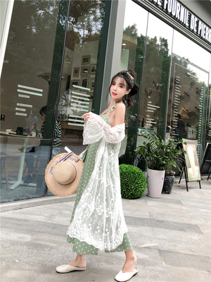 Sin is the wave of new wild sun protection clothing women's long section width Song Leisi summer cardigan jacket