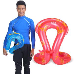 Dày dành cho người lớn nam và nữ vòng bơi thêm lớn phao cứu sinh bé áo phao nổi vòng inflatable trẻ em nách vòng