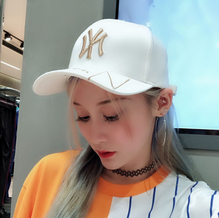 70e2b3623cd Jin Bao Han generation MLB baseball cap hat NY Yankees men and women ...