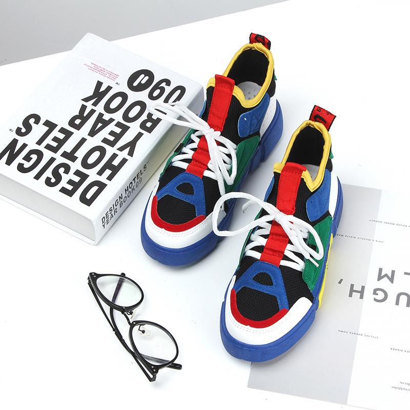 悟道2老爹鞋韩版百搭国潮夏季透气<font color='red'><b>运动</b></font>鞋2