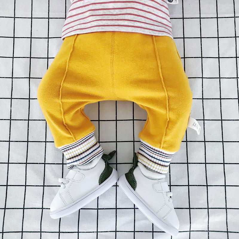 沃康婴儿裤子春装6-12个月新生纯棉休闲裤秋季一岁宝宝开裆大pp裤_淘宝优惠券