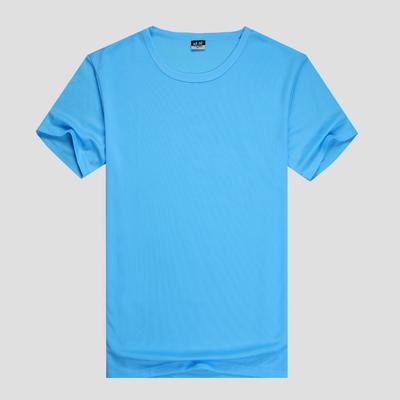 Nhanh chóng làm khô quần áo nam giới và phụ nữ mùa hè ngắn tay cổ tròn quần áo khô nhanh tùy chỉnh thể thao ngoài trời couple khô nhanh T-Shirt in logo Áo khoác đôi