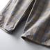 Tính khí phong cách Anh Khuyến nghị phúc lợi Khách hàng cho mùa hè nam tùy chỉnh quần short năm điểm quần quần kẻ sọc quần âu - Quần short