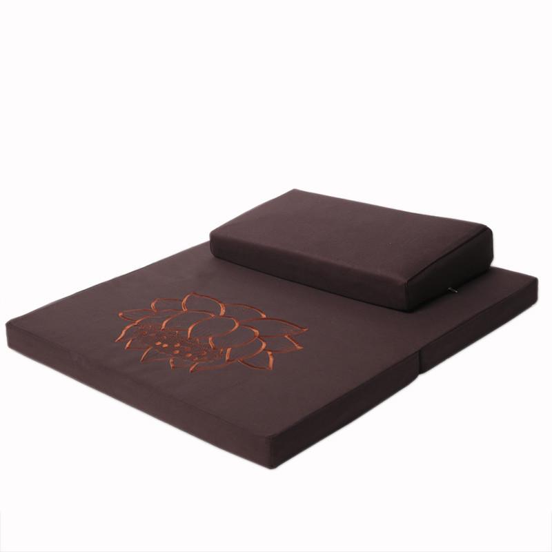 特价蒲团坐垫拜垫拜佛垫静坐打坐垫禅修垫加厚家用椰棕折叠坐禅垫