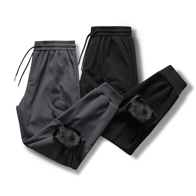 祖玛珑运动裤男夏季宽松速干短裤男潮7分裤休闲裤九分裤冰丝薄款