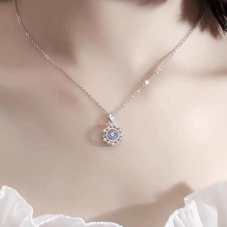 925银项链纯银项链女ins不掉色锁骨链轻奢小众送女友闺蜜生日礼物